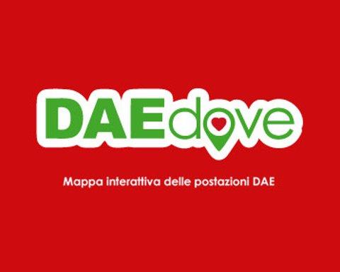 L'app che fornisce una mappa dei defibrillatori semiautomatici (DAE) presenti in Italia