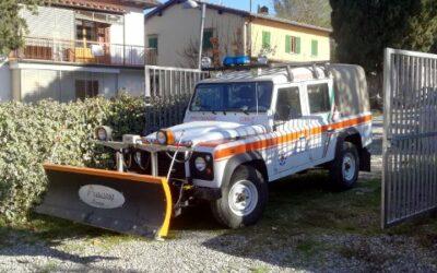 Jeep per servizio antineve