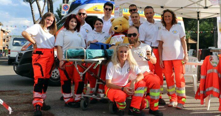 I nostri Volontari con Winnie the Pooh