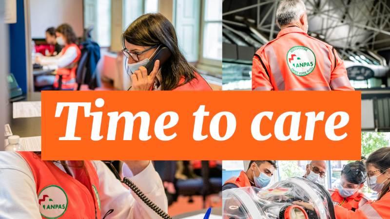 """""""Time to care"""": 187 posti disponibili nelle 88 sedi di Pubbliche Assistenze Anpas"""