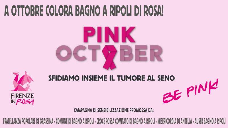 Bagno a Ripoli si tinge di rosa!!