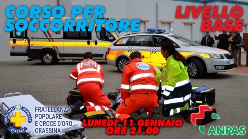 soccorritori in un intervento
