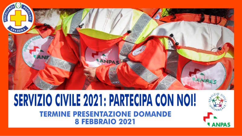 Servizio civile universale 2021 in FPG