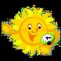 sole con orologio