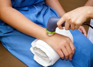 applicazione ultrasuonoterapia